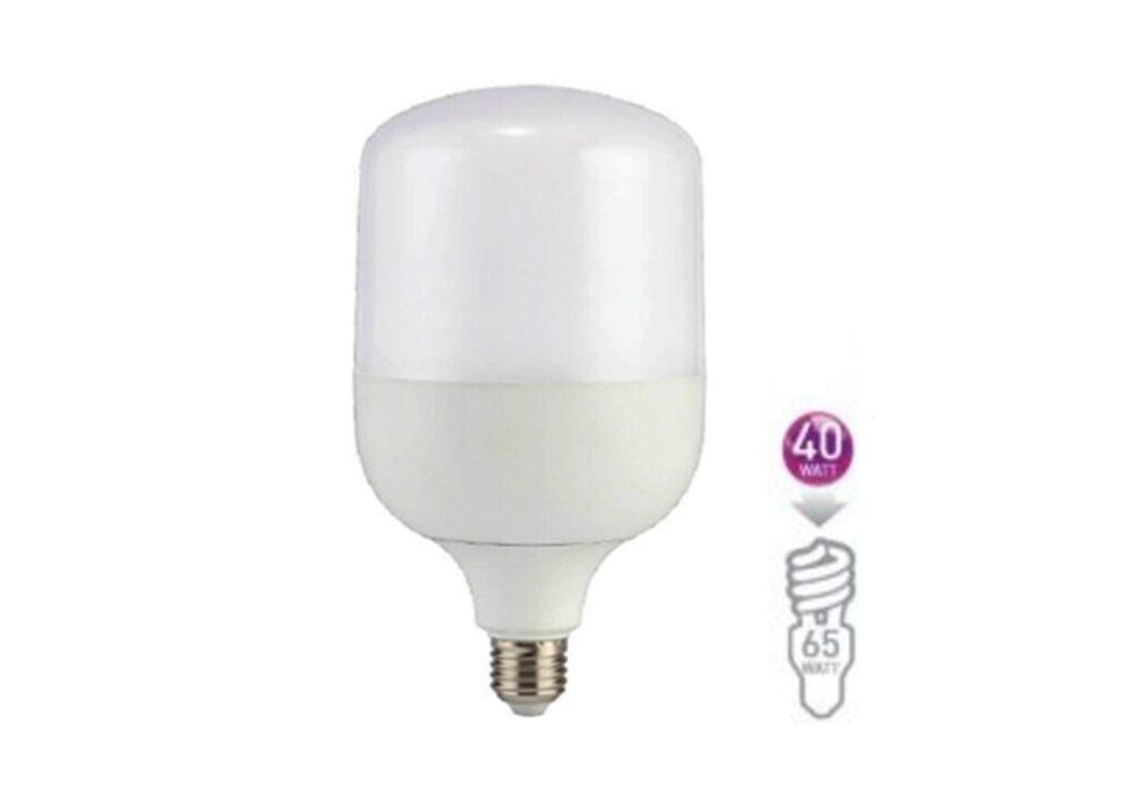หลอดไฟไฮเบย์ led highwatt shop bulb 40w เดย์ไลท์ eve