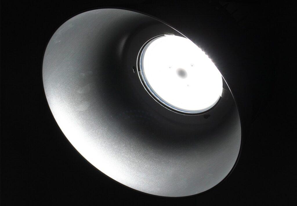 โคมไฮเบย์ led iwachi ufo 150w เดย์ไลท์
