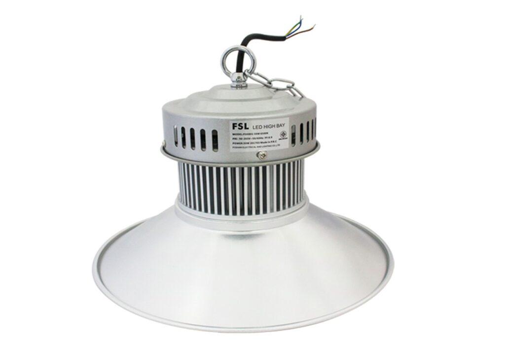 โคมไฮเบย์ LED 50W (วอร์มไวท์) FSL