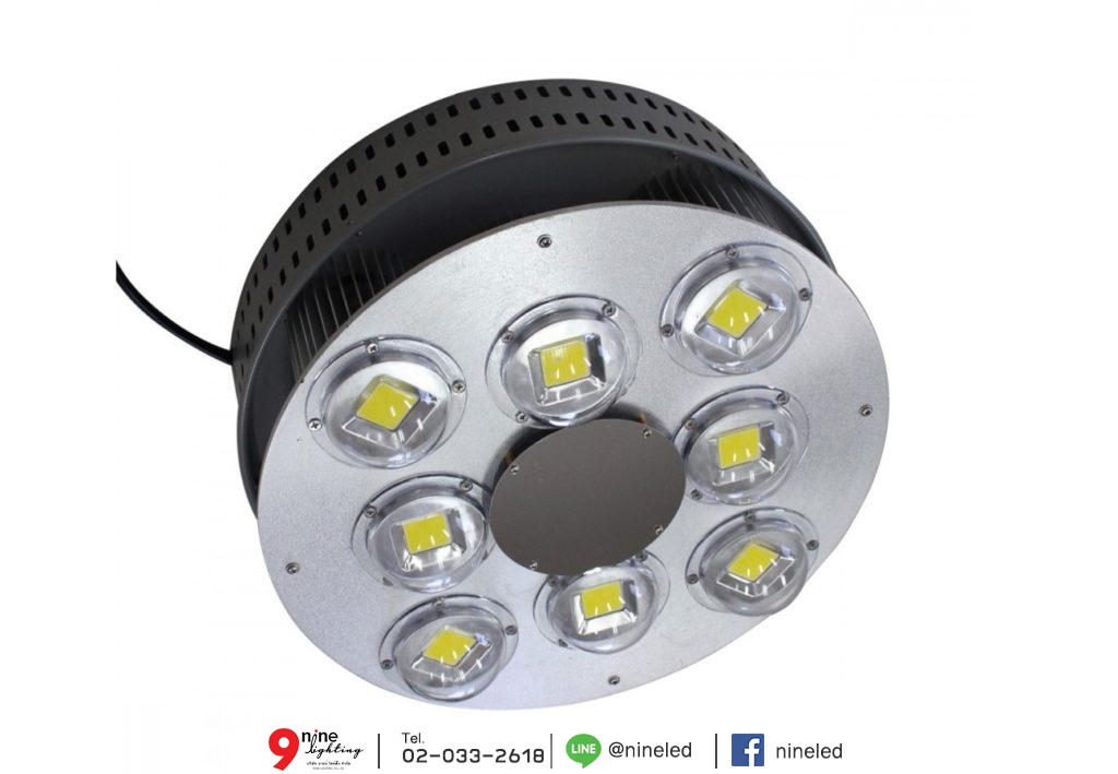โคมไฮเบย์ LED GKD-043 400W (เดย์ไลท์) IWACHI