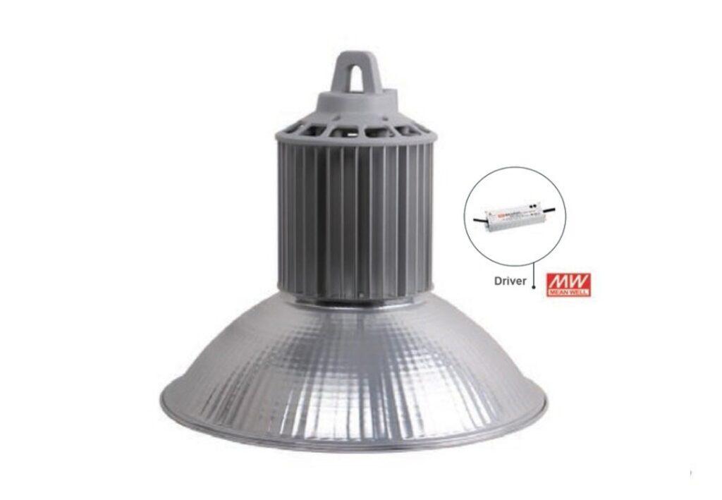 โคมไฮเบย์ LED YM-5HB 100W (วอร์มไวท์) EVE